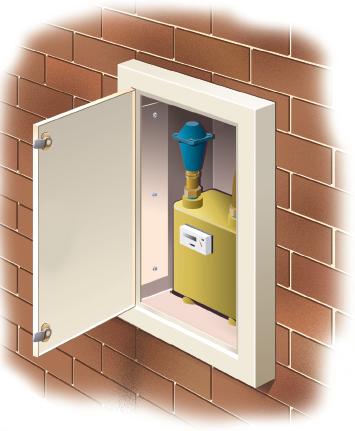 Architrave Gas Amp Electric Meter Repair Boxes Jml Hardware