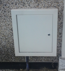 cladded gas electric water meter boxes