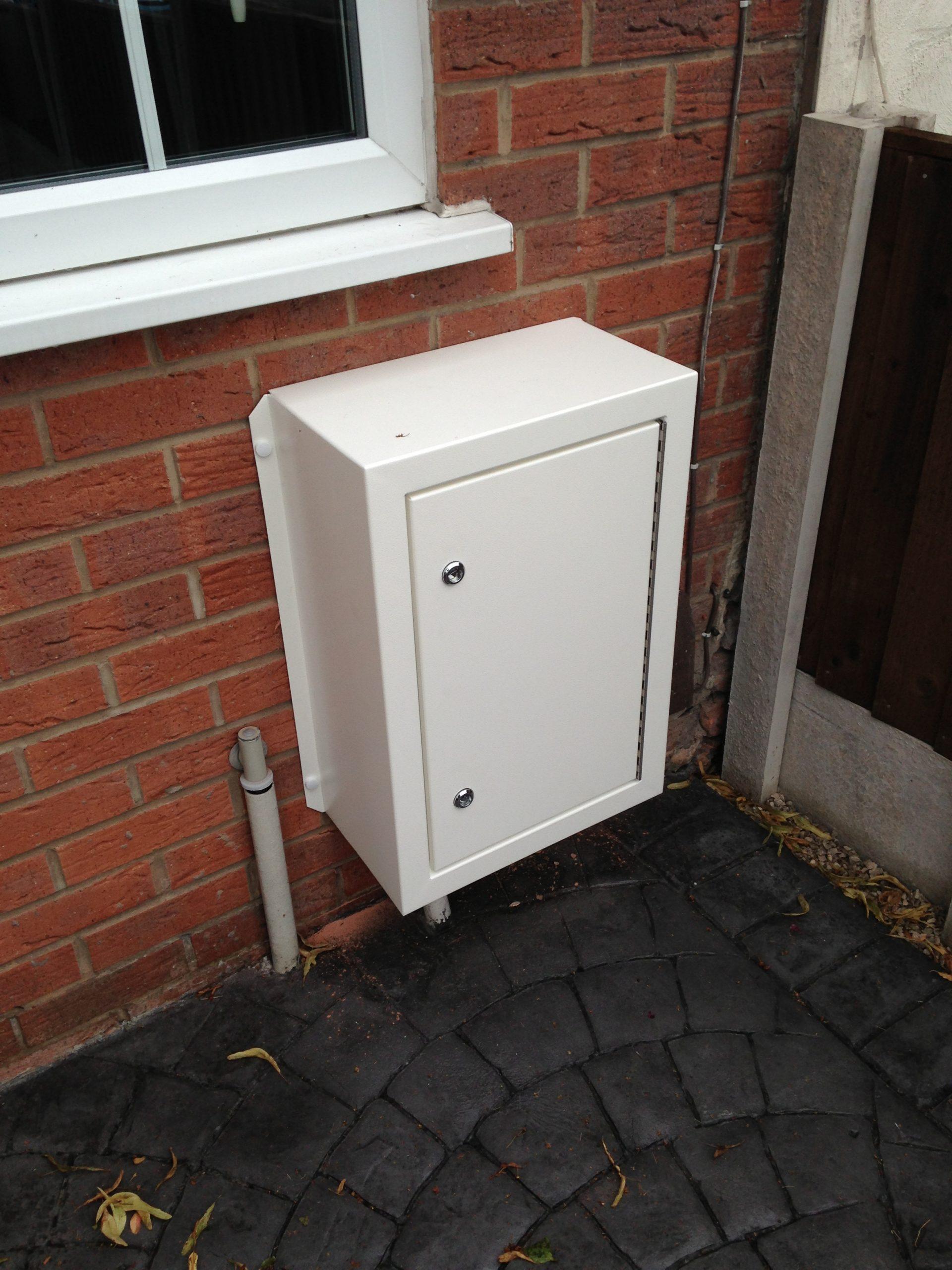 Electric Meter Box : Surface mounted gas electric meter repair box jml hardware