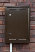 OB8 brown Gas meter repair boxes